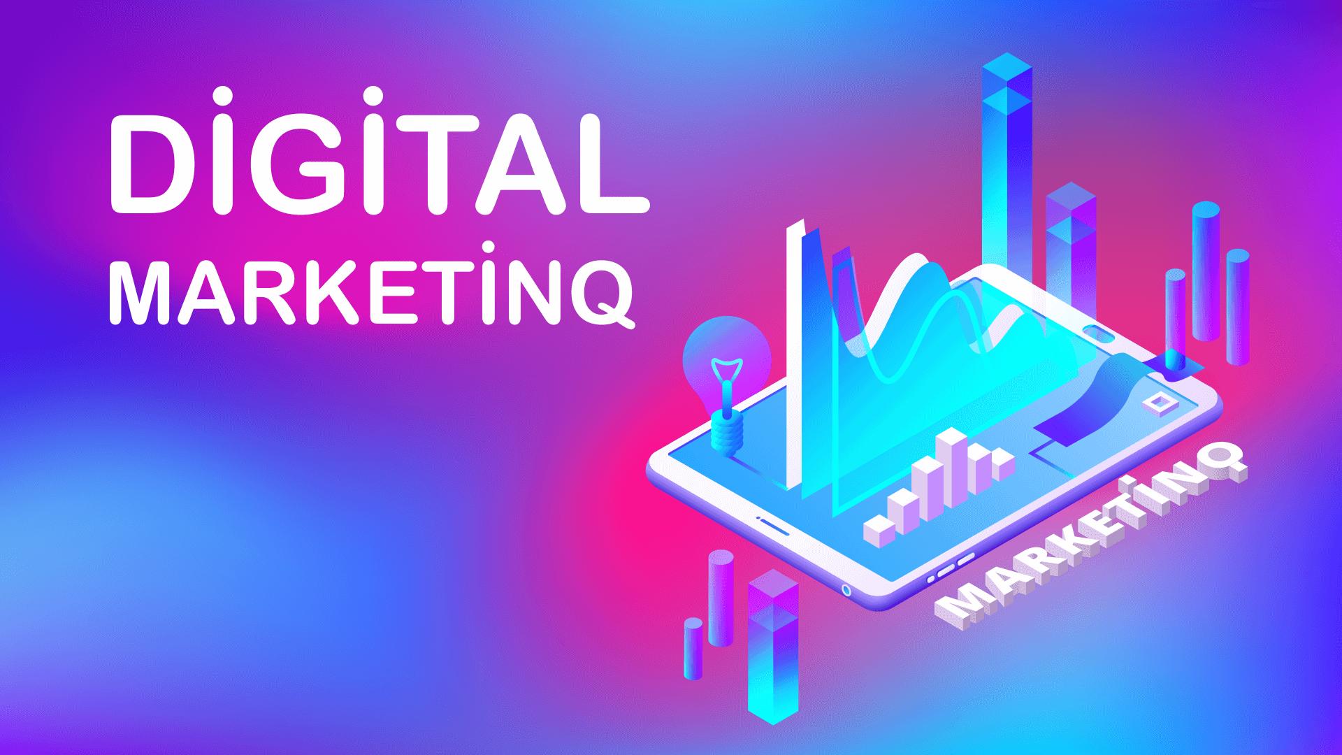 digital marketinq, onlayn marketinq